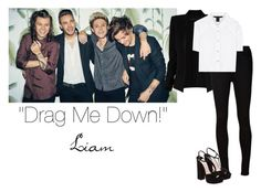 """""""""""Drag Me Down!"""" Photo Shoot ~ One Direction ~ Girl Versions ~ Liam"""" by hanakdudley ❤ liked on Polyvore"""
