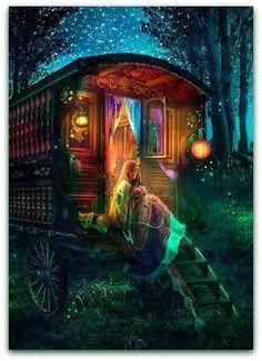 gypsy art   Gypsy.   art