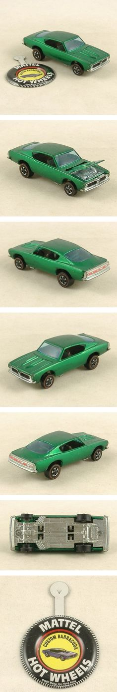 Hot Wheels RedLine Custom Barracuda