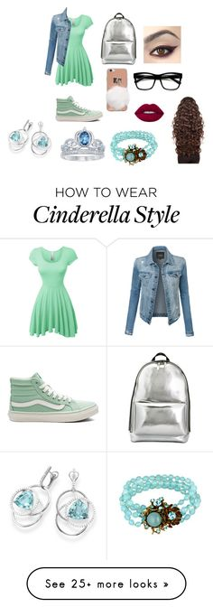 """""""Spring #4"""" by infinityisangel on Polyvore featuring LE3NO, Vans, 3.1 Phillip Lim, ZeroUV, Lime Crime, WigYouUp, Miriam Haskell, Disney and Frederic Sage"""