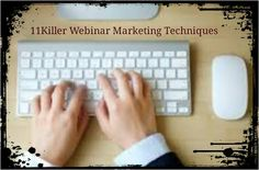 Trying to new Leads via Webinar marketing? Get 10 awesome… http://www.ads2020.marketing/2015/10/11-killer-webinar-marketing-techniques.html