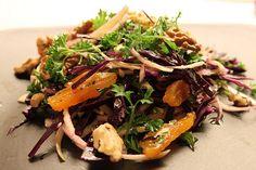 10 salater til juleand og flæskesteg | Tilbehør julemad >> Broccoli Pesto, Japchae, Tapas, Food And Drink, Beef, Ethnic Recipes, Christmas 2019, Drinks, Kitchen