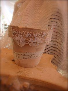 **MAPETITEMAISON PIN: altered flower pot