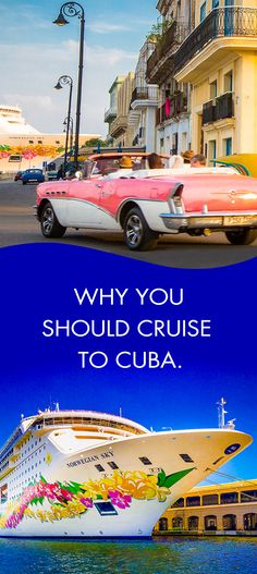 Havana awaits, check out why you should cruise to Cuba! *Norwegian offers OFAC-compliant cruises and shore excursions. Barbados Travel, Cuba Travel, Cruise Travel, Cruise Vacation, Vacation Trips, Greece Vacation, Cruise Tips, Brazil Vacation, Honduras Travel