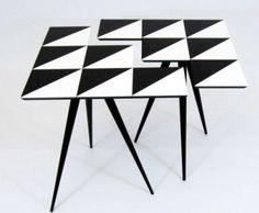 Rockman & Rockman from London Op-Art Side Tables