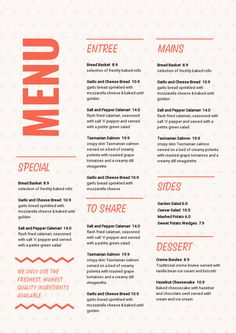 Fiverr freelancer will provide Menu Design services and design unique restaurant and bar menu including Custom Graphics within 1 day Bakery Menu, Restaurant Menu Template, Restaurant Menu Design, Restaurant Branding, Online Restaurant, Restaurant Bar, Cafe Menu Design, Food Menu Design, Menu Maker