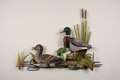 These mallards look so realistic, you may find yourself looking twice to make sure they are not!