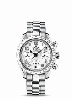 OMEGA Watches: Speedmaster Automatic Chronometer - Steel on steel - 324.30.38.40.04.001