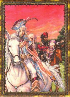 Shibamoto Thores, Gonzo, Trinity Blood, Ion Fortuna, Baybars