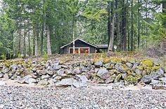 Wild Sky perched on the Skykomish river bank! #nature #getaway #vacation #rental #cabin #pacnw