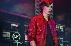 McQ Spring/Summer 2014 Campaign–Checking in for an eerie spring/summer 2014 campaign from McQ by Alexander McQueen, models Brogan Loftus, Ine Neefs, Frank Lebon, Edward Kasisopa and Arwel join Declan Cullen and Sean Semmens of the music band Coastal Cities. Photographed by Steven Klein in London, the campaign perfectly captures a dark twist on the season, dreaming up a ghoulish nightmare with youthful styles.