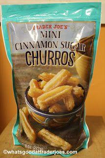 What's Good at Trader Joe's?: Trader Joe's Mini Cinnamon Sugar Churros