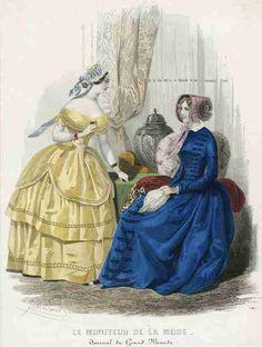 Moniteur de la Mode, February 1847.