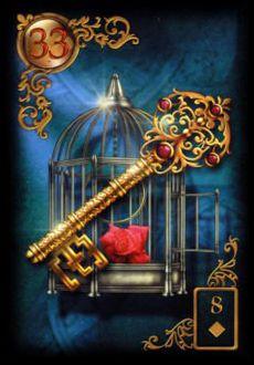 Saiba e aprenda mais sobre as combinações das cartas do Baralho Cigano Lenormand e aprofunde seus conhecimentos na carta Chave.