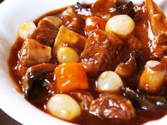 beef bourguignon - always wanted to make this dish and will because of the rave reviews!