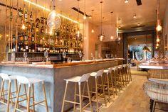 Very Organic, Welcoming Restaurant Decor by Kinnersley Kent Design - InteriorZine