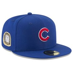 5244c091614 Chicago Cubs Title Trim 59Fifty Fitted Hat by New Era  ChicagoCubs  Cubs   FlyTheW