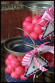 March- Polka Dot Party Favors