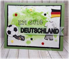 Kulricke Fußball Stempel Set, Kulricke Label 2 Stanze