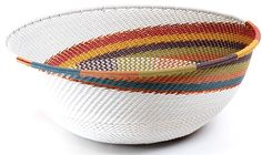 zulu wire basket.   oh, how i want this in my house
