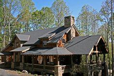 Ravens Nest   Log House Plans   Log Home Designs