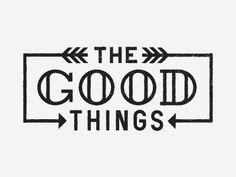 las cosas buenas