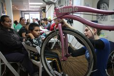 Volunteering Enables Low-Income Ohioans to Get Their Own Two Wheels Toledo Bikes! wants to see everyone pedaling.   Read more: http://nationswell.com/toledo-bikes-poor-low-income-earn-bikes/#ixzz3EvEfzHNp