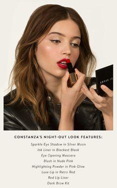 Bobbi Brown Date Night makeup look