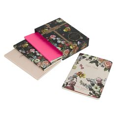 Discover the Ted Baker Set of 4 Mini Notebooks at Amara