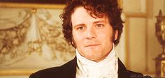 Colin Firth  Mr. Darcy in love