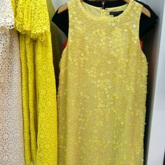 French Connection sequined shift dress