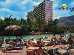#acapulcoeneltiempo El hotel Acapulco Hilton y la historia de su alberca. ACAPULCO EN EL TIEMPO. Hilton es una cadena hotelera de gran renombre a nivel internacional y en Acapulco contaban con un hermoso hotel y una impresionante alberca para ese entonces, la cual posteriormente fue propiedad del Hotel Emporio que se encontraba a un lado. Obtén más información en la página oficial de Fidetur Acapulco.