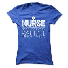 For Patient Heroes Only T Shirts, Hoodie. Shopping Online Now ==► https://www.sunfrog.com/LifeStyle/For-Patient-Heroes-Only-RoyalBlue-Ladies.html?41382