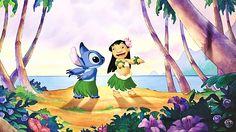 free desktop wallpaper downloads lilo and stitch - lilo and stitch category