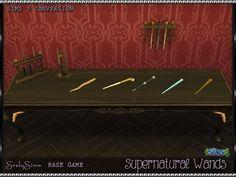 Supernatural Wands at SrslySims via Sims 4 Updates