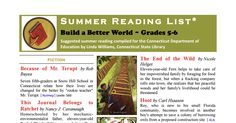 The Connecticut State Suggested Reading List for Grades 5-6