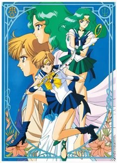 Sailor Moon / Neptune and Uranus