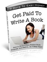 Do you have a book inside of you?  If so, why not try your hand at writing for a profit? Use this FREE book as inspiration. Download it here. ===>