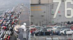 Aircraft carrier parking lot