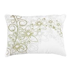 Simply & Beauty Flower Decorative Pillow