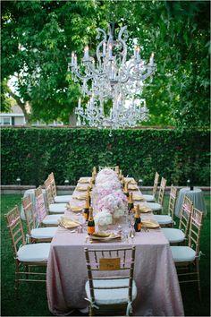 Oxford Proper Backyard bridal shower venue