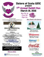 Marysville, CA - Mar. 19, 2016: Sisters of Scota WMC 7th Annual Rabbit Run. Proceeds benefit Environmental Alternatives Foster Family Agency.