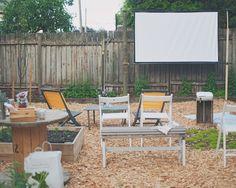 Wood & Grain - Backyard Movie Night