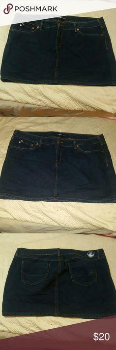 Source of Wisdom Jeans skirt By Torrid Source of Wisdom Denim Mini Skirt by Torrid Torrid Skirts Mini