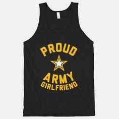 Proud Army Girlfriend (Tank)