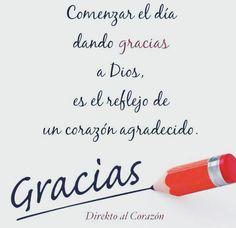 Comenzar el Día dando Gracias a Dios