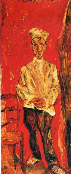 Chaim Soutine : Pastry Cook