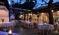 Place to eat  Avra Restaurant in Mykonos Greece - Mykonos restaurants & dining