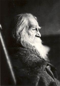 Samuel Murray, portrait of Walt Whitman, 1891
