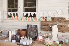 Adorable Shabby Chic 1st Birthday Party!